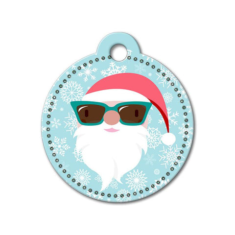 Santa Claus Holiday Dog Tag - WagAvenue - 1