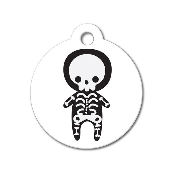 Skeleton - Halloween Pet Tag - WagAvenue - 1