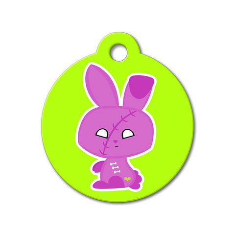 Zombie Bunny - Halloween Pet Tag - WagAvenue - 1
