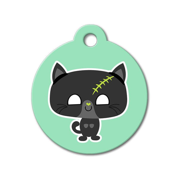Zombie Kitten - Halloween Pet Tag - WagAvenue