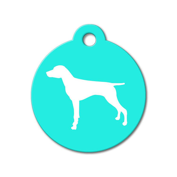 German Shorthaired Pointer - Silhouette Pet Tag - WagAvenue - 1
