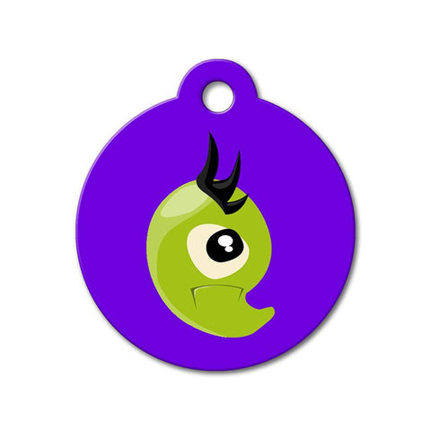 Green Monster - Cute Pet Tag - WagAvenue - 1