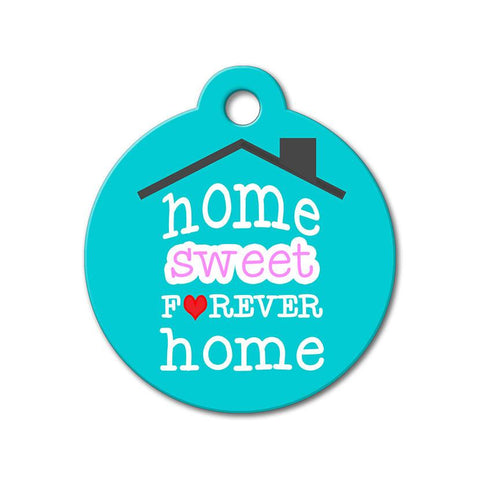 Home Sweet Forever Home - Rescue Pet Tag - WagAvenue - 1