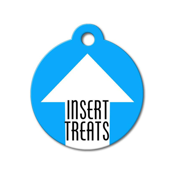 Insert Treats - Funny Pet Tags - WagAvenue - 1