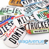New Hampshire License Plate Pet Tag - WagAvenue - 3