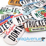 Arkansas License Plate Pet Tag - WagAvenue - 3