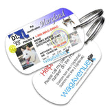 Maryland Driver's License Pet Tag - WagAvenue - 1