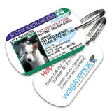 North Carolina Driver's License Pet Tag - WagAvenue - 1