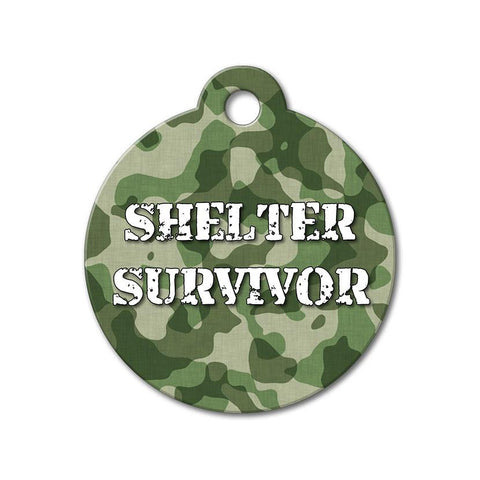 Shelter Survivor - Rescue Pet Tag - WagAvenue - 1