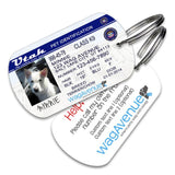 Utah Driver's License Pet Tag - WagAvenue - 1