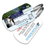 West Virginia Driver's License Pet Tag - WagAvenue - 1