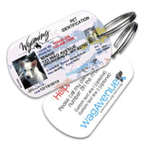 Wyoming Driver's License Pet Tag - WagAvenue - 1