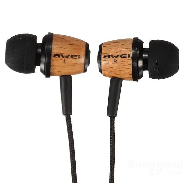 Q9 Super Bass Wooden Headphones Earphones Headset