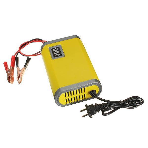12V 6A Car Motorcycle Battery Charger Intelligent Charger
