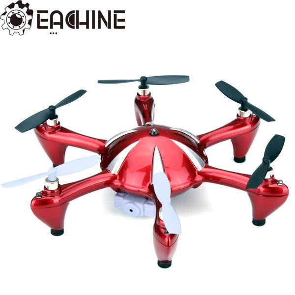 X6 2.4G 4CH 6 Axis RC Hexacopter With 2MP Camera RTF