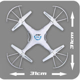 H5C Headless Mode One Key Return RC Quadcopter 2MP Camera RTF