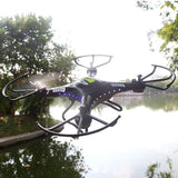 H8C DFD F183 2.4Ghz 4CH 6 Axis RC Quadcopter With 2MP Camera RTF