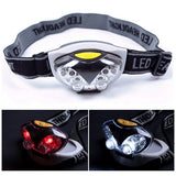 3 Mode 6 LED Bike HeadLamp HeadLight Torch Light Waterproof