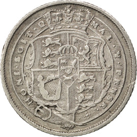 Coin, Great Britain, George III, 6 Pence, 1820, EF(40-45), Silver, KM:665