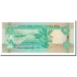 Banknote, United Arab Emirates, 10 Dirhams, 1993, KM:13a, UNC(65-70)