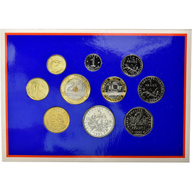 Coin, France, Set, 1995, Paris, MS(65-70), Gadoury:page 263