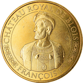 France, Token, Blois - Château royal - François 1er, 2017, MDP, MS(63)