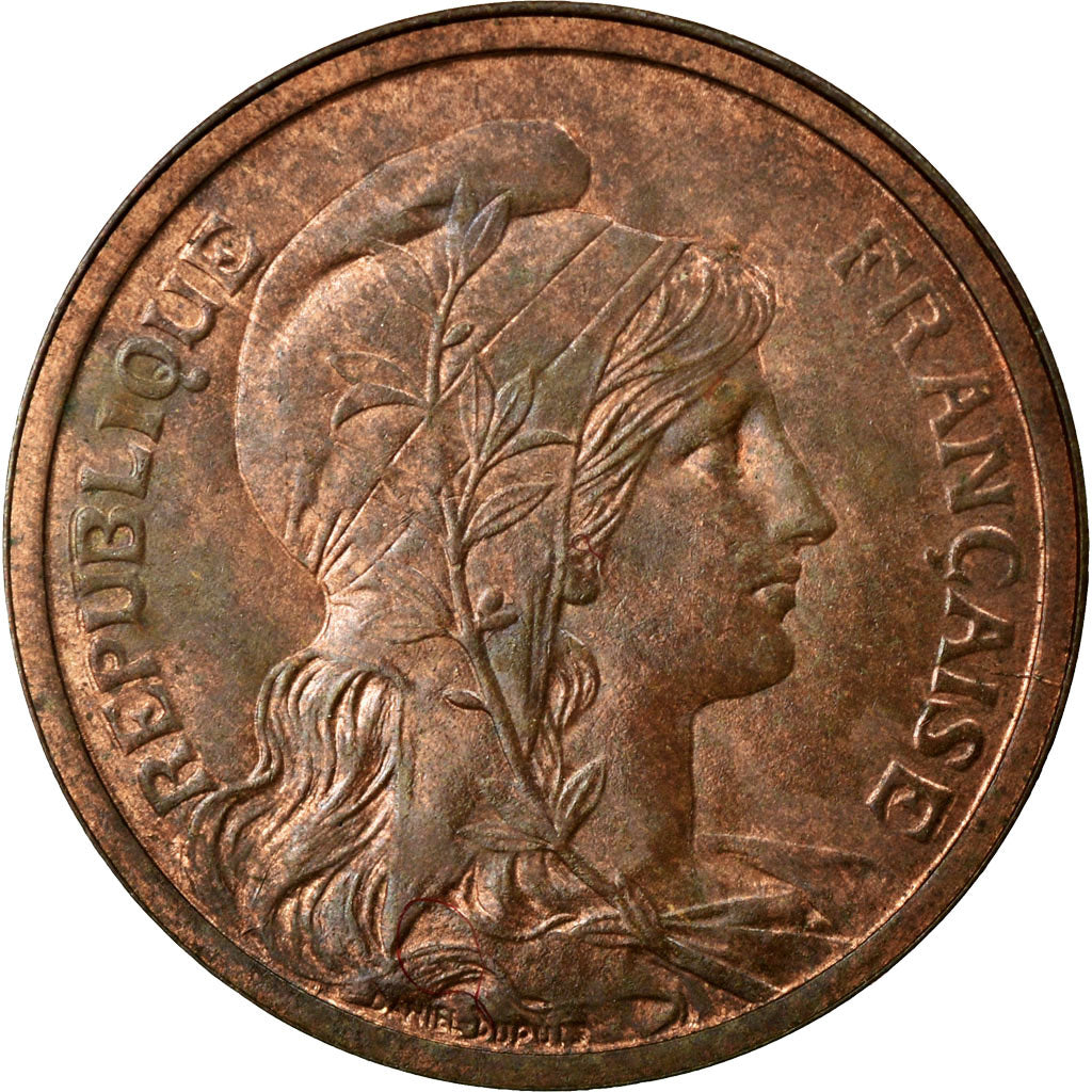 Coin, France, Dupuis, 2 Centimes, 1914, Paris, AU(55-58), Bronze, Gadoury:107