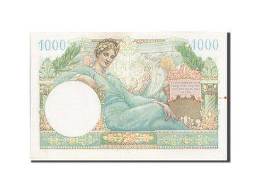 Banknote, France, 1000 Francs, 1947 French Treasury, 1947, 1947, UNC(60-62)