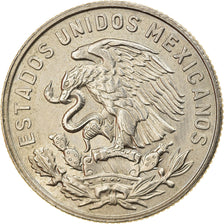 Coin, Mexico, 50 Centavos, 1969, Mexico City, AU(55-58), Copper-nickel, KM:451