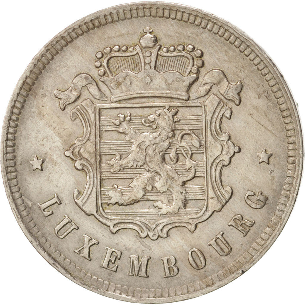 Coin, Luxembourg, Charlotte, 25 Centimes, 1927, EF(40-45), Copper-nickel, KM:37