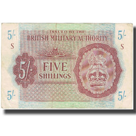 Banknote, Great Britain, 5 Shillings, KM:M4, EF(40-45)