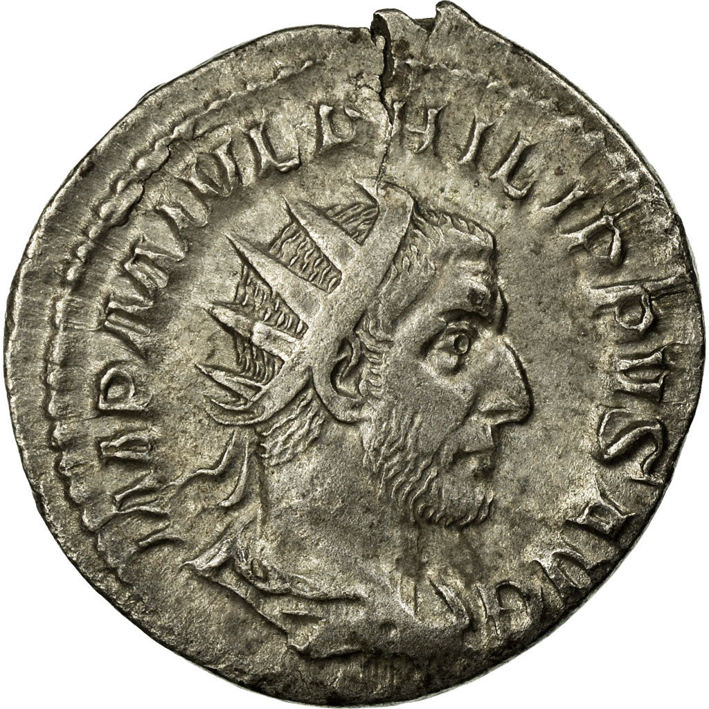 Coin, Philip I, Antoninianus, AU(50-53), Billon, Cohen:215