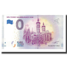 Germany, Tourist Banknote - 0 Euro, Germany - Naumburg - Cathédrale de Naumburg