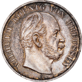 Coin, German States, PRUSSIA, Wilhelm I, Thaler, 1871, Berlin, Proof, MS(60-62)