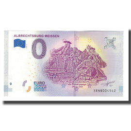 Germany, Tourist Banknote - 0 Euro, Germany - Meissen - Château Gothique