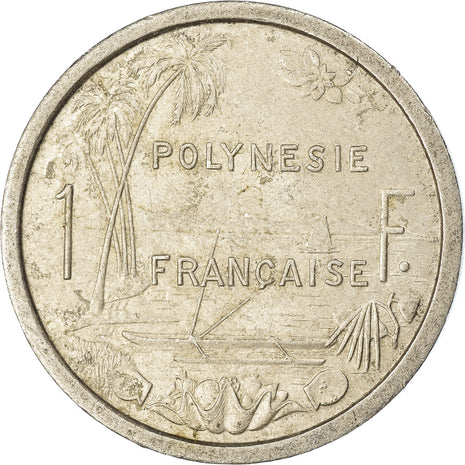 Coin, French Polynesia, Franc, 1975, Paris, VF(30-35), Aluminum, KM:11