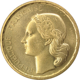 Coin, France, 20 Francs, 1950, MS(63), Aluminum-Bronze, KM:E93, Gadoury:865