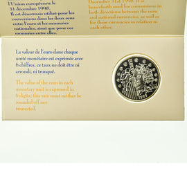 Coin, France, Set, 1999, Paris, Europa 1999