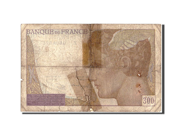 Banknote, France, 300 Francs, 300 F 1938-1939, 1939, Undated (1939), VG(8-10)