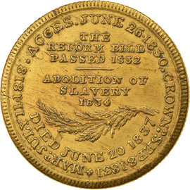 United Kingdom, Token, Mort de William IV, King of Great Britain, 1837