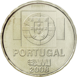 Portugal, 1-1/2 Euro, 2008, MS(65-70), Copper-nickel, KM:828a