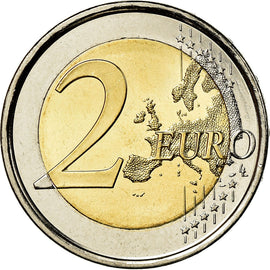 Spain, 2 Euro, Burgos, 2012, AU(55-58), Bi-Metallic, KM:1254