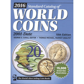 Book, Coins, World Coins, 2001-2016, 10th Edition, Safe:1842-5