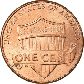 Coin, United States, Cent, 2013, Philadelphia, EF(40-45), Copper Plated Zinc