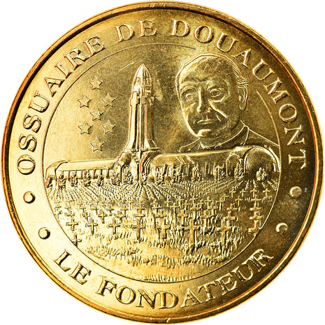 France, Token, Touristic token, Douaumont - Ossuaire n° 8, Arts & Culture