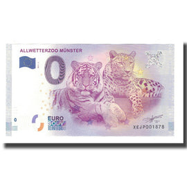 Germany, Tourist Banknote - 0 Euro, Germany - Münster - Allwetterzoo - Parc