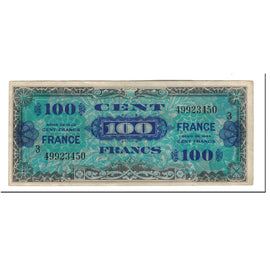 France, 100 Francs, 1944, KM:123c, EF(40-45)
