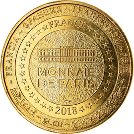 France, Token, Charlemont - Citadelle de Givet, 2018, MDP, MS(63), Cupro-nickel
