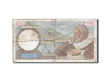Banknote, France, 100 Francs, 100 F 1939-1942 ''Sully'', 1939, 1939-10-19