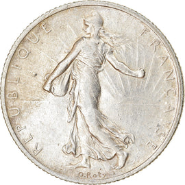 Coin, France, Semeuse, 2 Francs, 1913, Paris, EF(40-45), Silver, KM:845.1